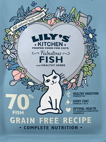 Lily's Kitchen Cat Food Fish 1kg