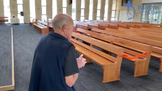 Video tour of church 2 : The Nave