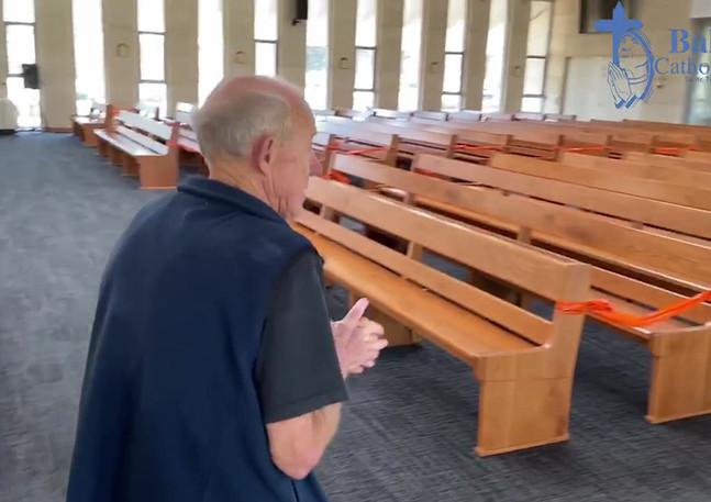 Fr Geoff Church Tour - The Nave