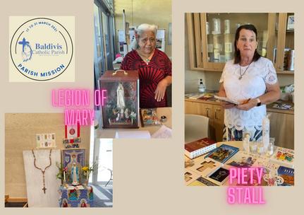 Legion of Mary & Piety Stall