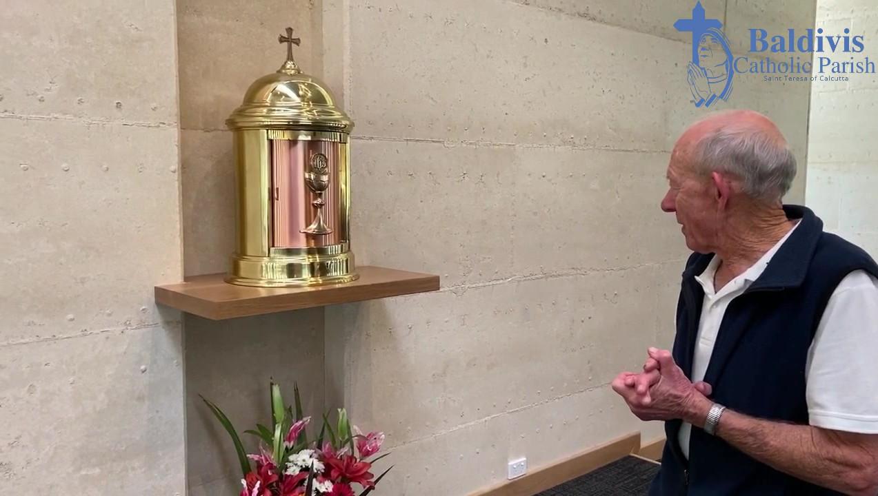 Fr Geoff Church Tour - The Sanctuary
