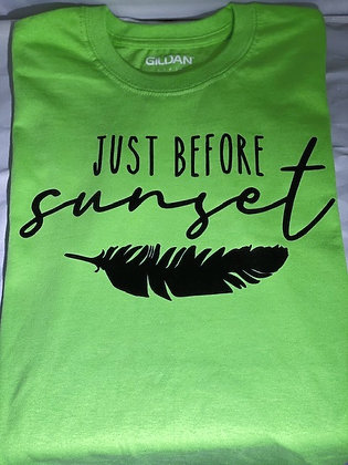Just Before Sunset T-Shirts