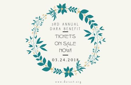 DARA's Spring Benefit 2018!
