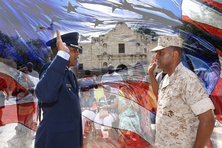 On the 4th of July 2015, it was an honor to promote US Marine Corps' Calvin Boutte to CHIEF WARRANT