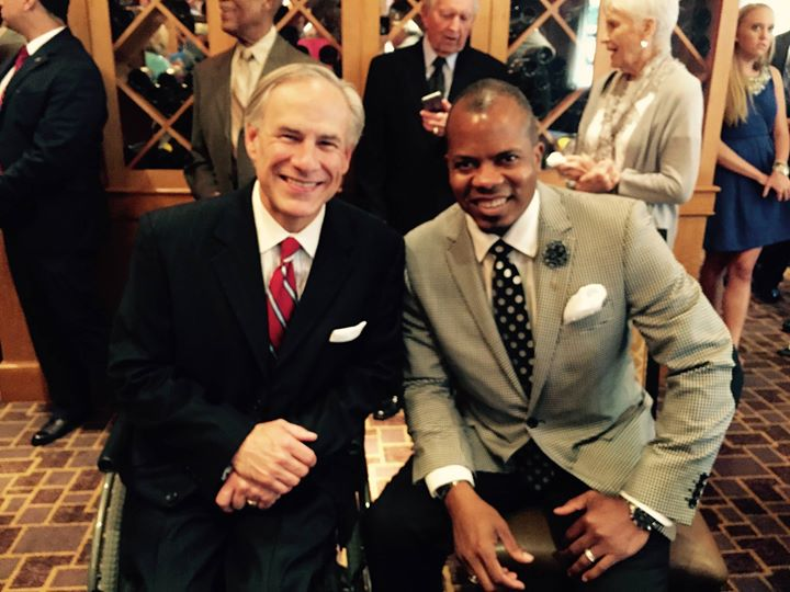 Juneteenth Events with Texas Governor Abbott...Office of the Governor Greg Abbott in Fort Worth, TX
