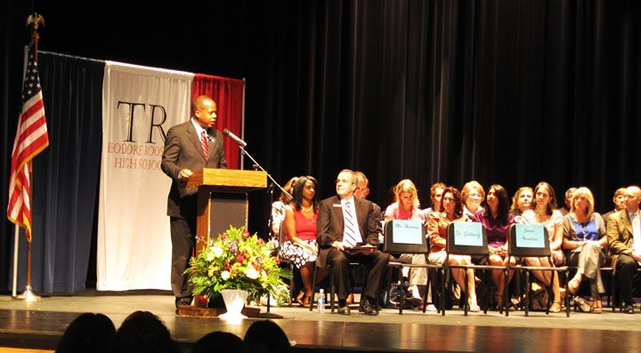 Great time at Parents Academy Graduation 2012 - My commencement speech went very well..