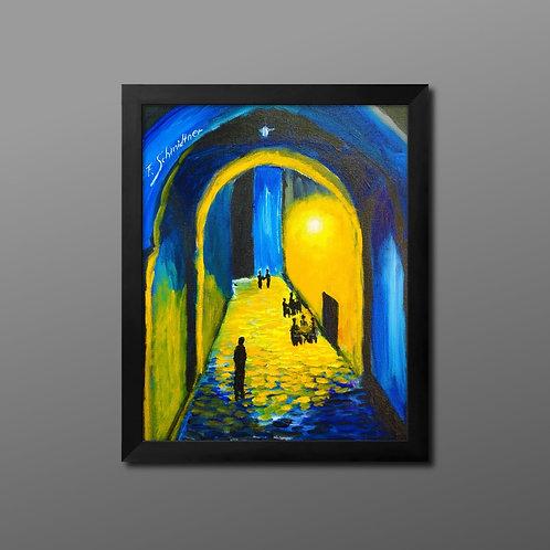 """Original Acryl Gemälde """"Silent Night"""""""