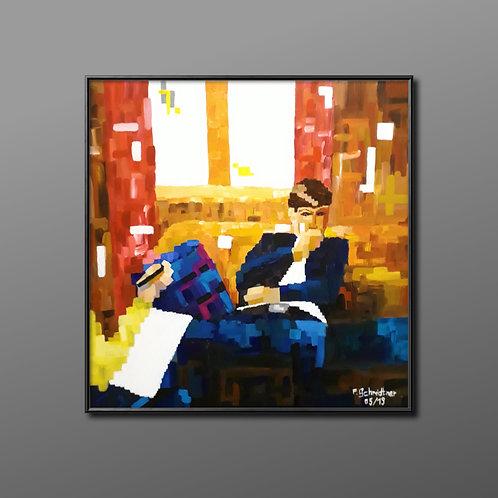 "Original Acryl Gemälde ""Psychotherapie"""
