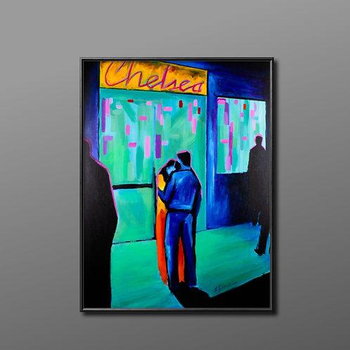 "Original Acryl Gemälde ""A loving Hug"""
