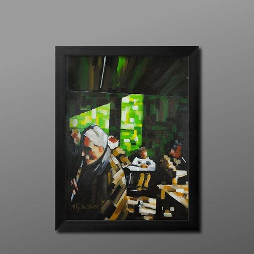"Original Acryl Gemälde ""Happy Inner Child"""
