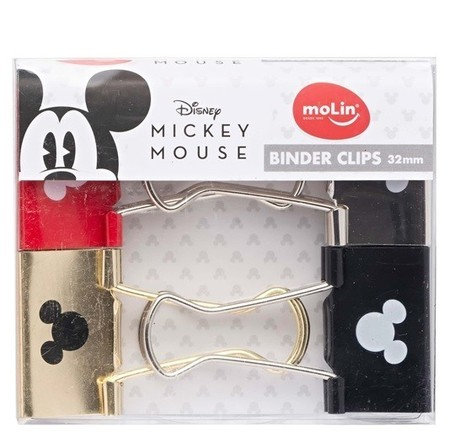 Binder MOLIN Mickey / Minnie 32mm 4 un.