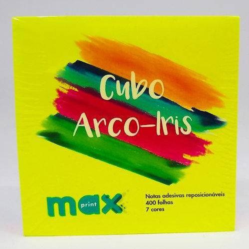Bloco Adesivo Maxprint 76X76 Cubo 7 cores