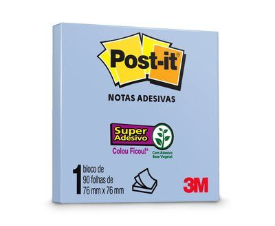 Bloco Post-It® 3M 76x76mm 90fls