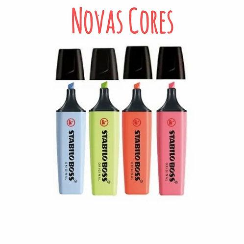 Marca Texto STABILO Boss Novas Cores 1un.