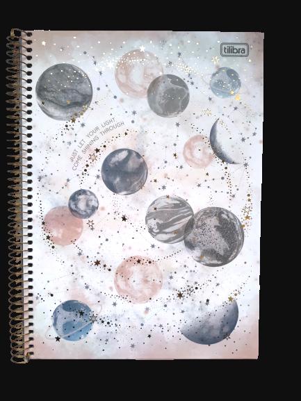 Caderno TILIBRA Espiral Universitário Magic 80fls