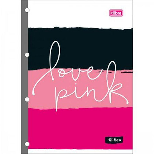 Refil TILIBRA Love Pink Universitário