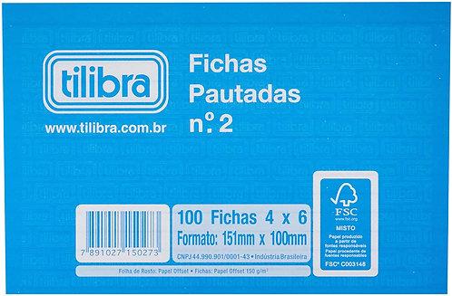 Ficha Pautada TILIBRA nº 2 151x100mm