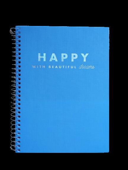 Caderno TILIBRA Espiral Colegial Happy 80fls