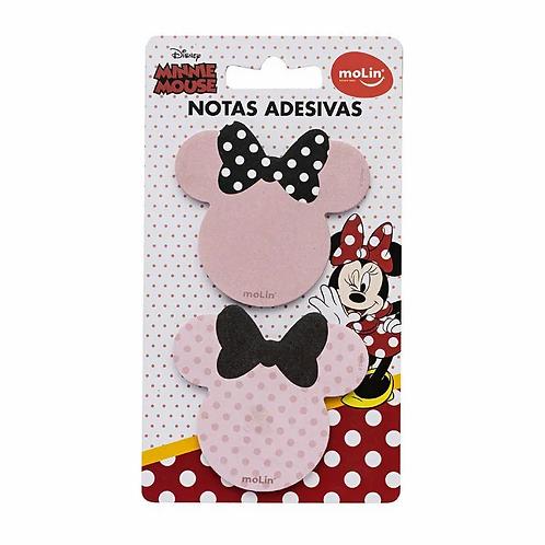 Bloco Adesivo MOLIN Minnie Mouse 2un.