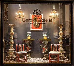 Jean-François Régis et Gerald Watelet ont eu l'idée de réunir en un seul et même espace le savoir-faire complémentaire d'un Antiquaire et d'un Ensemblier-décorateur.