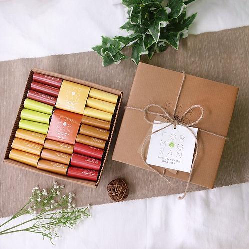 Formosan Farms生活品味全茶葉禮盒/23入(千里傳意/手感瓦楞紙盒)