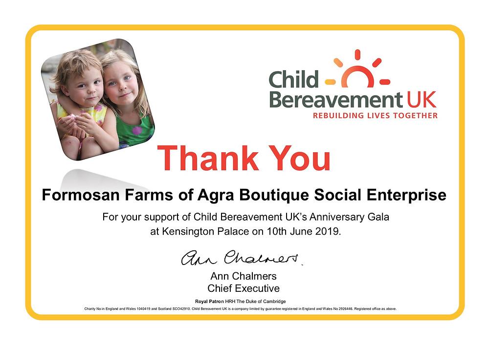 Formosan Farms UK Royal Charity Gala