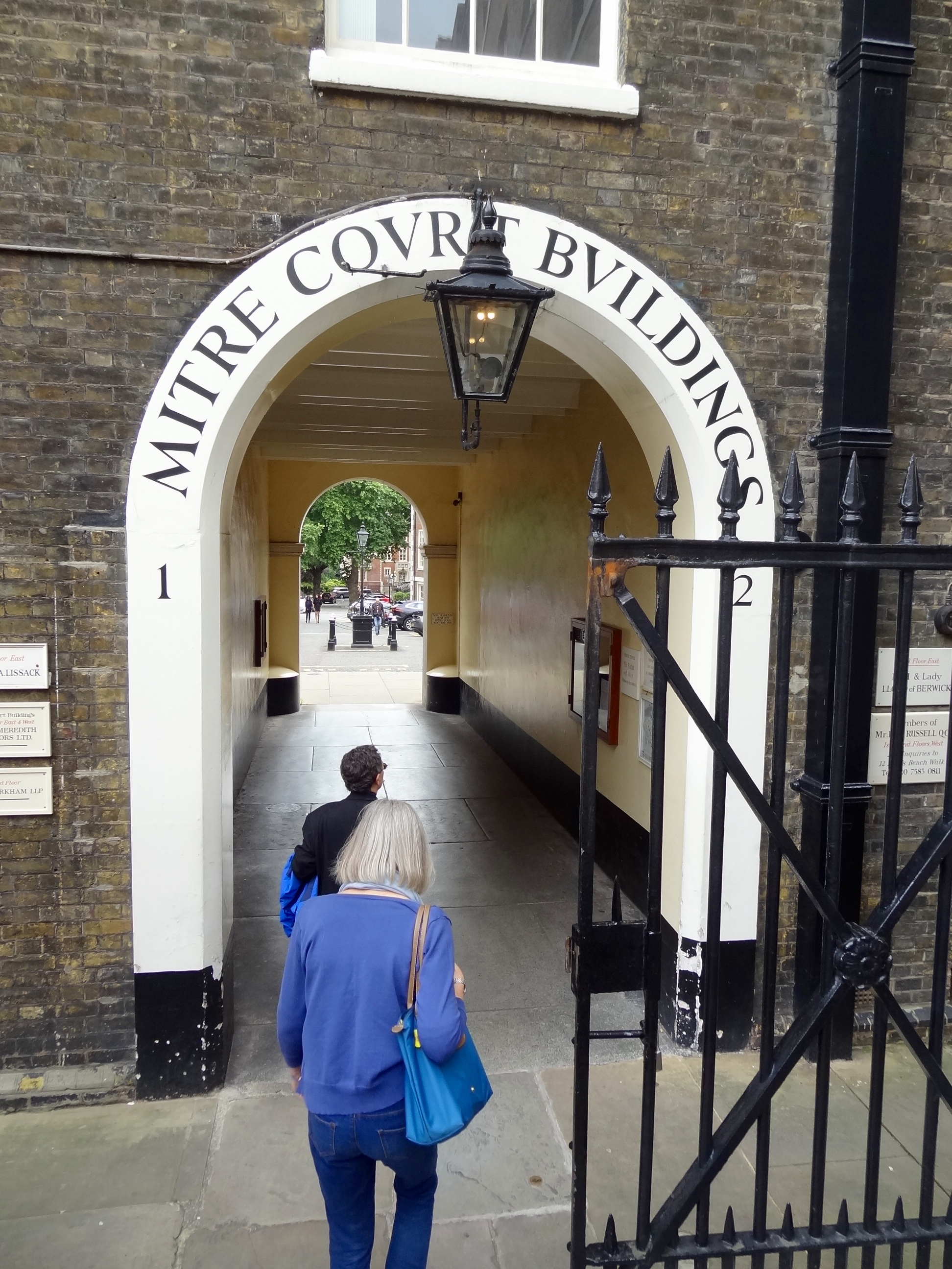 Arch into Inner Temple
