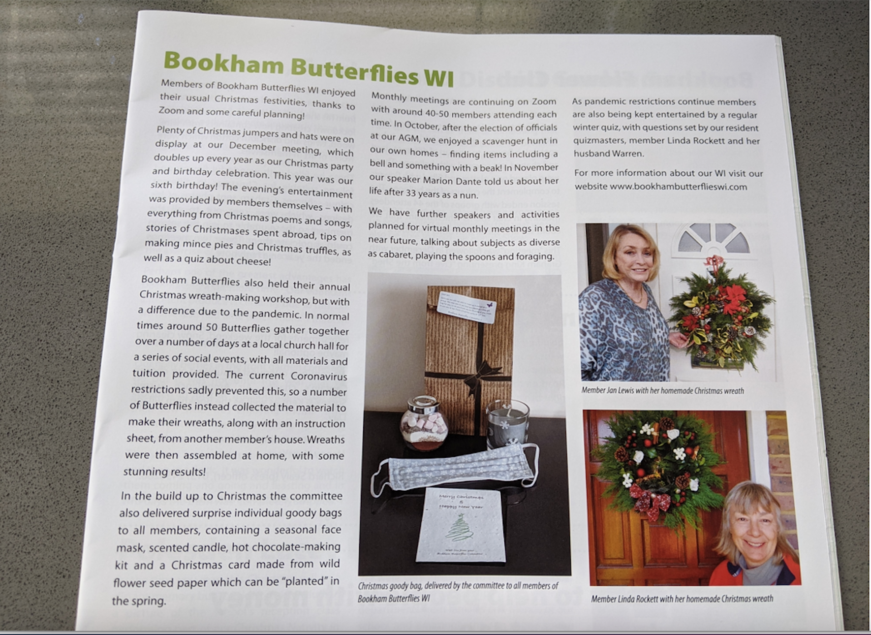 Bookhams Bulletin