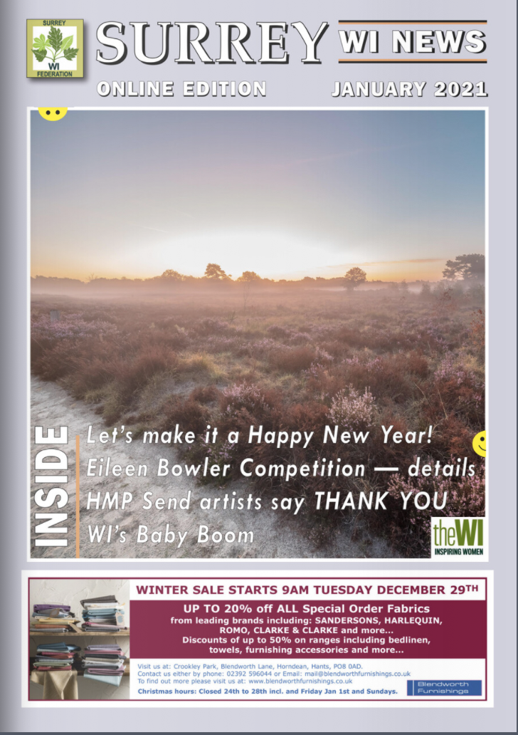 Surrey WI News
