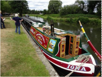 Canal Trip & Cream Tea