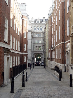 Leaving Inner & Middle Temple