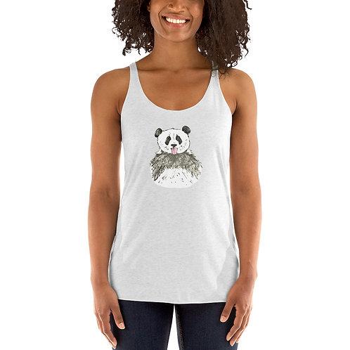 Panda Women's Racerback Tank