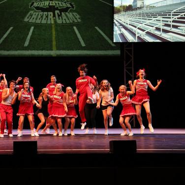 Winning cheer camp