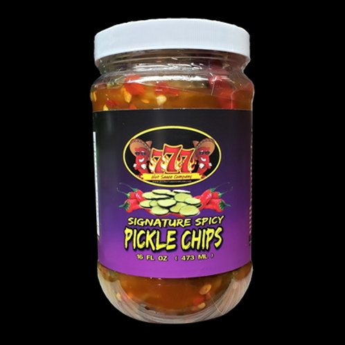 777 Signature Spicy Pickle Chips