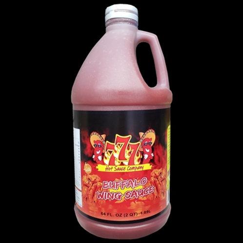 Buffalo Wing Sauce By The 1/2 Gallon (64oz)