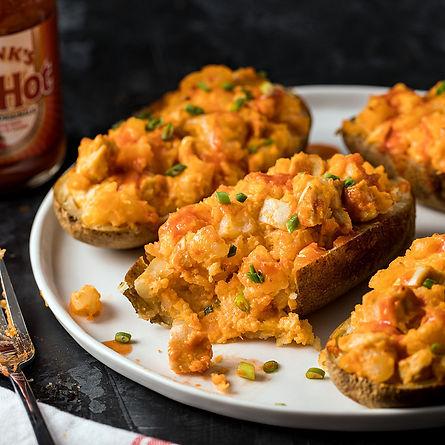 Buffalo Chicken Stuffed Potatoes_2019-05