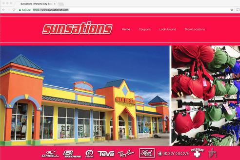 sunsations website