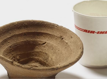 The Minoans and their disposable wine cups