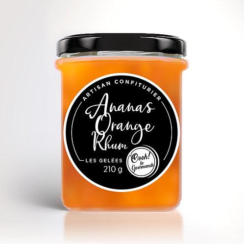 Ananas Orange Rhum