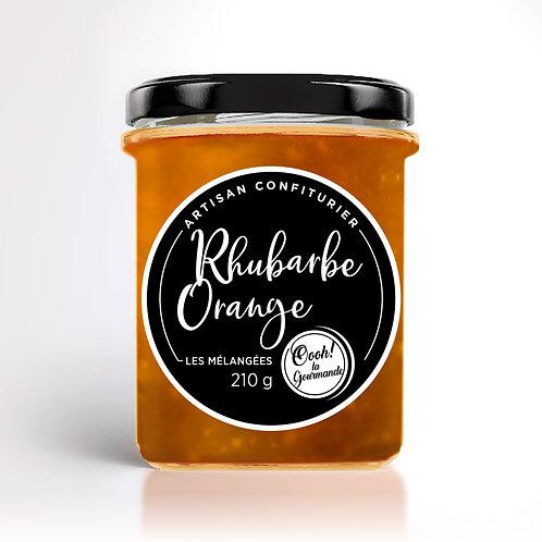 Rhubarbe, Orange