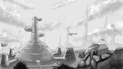 Alien Environment Design