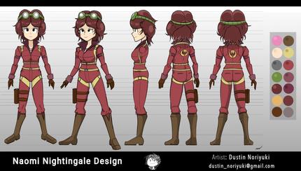Naomi Nightingale Character Design