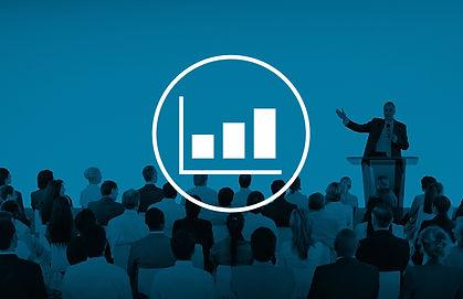 Bar Graph Marketing Analyzing Growth Inc