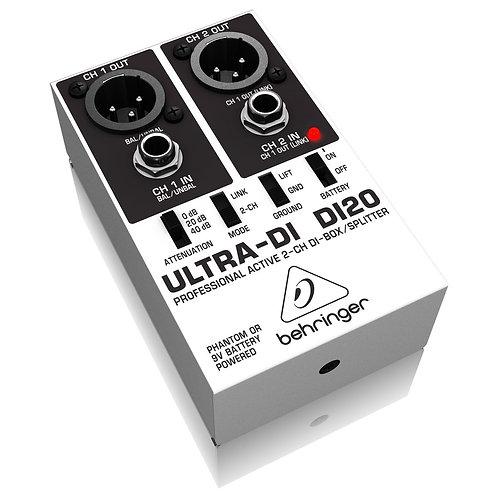 Direct Box Behringer Ultra DI20