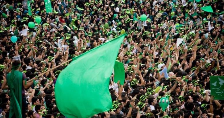 """""""Зелёное движение"""" в Иране: десятилетие неслучившейся революции"""