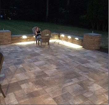 Patio with Lights!