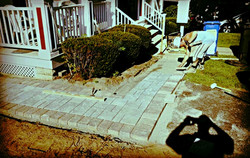 Blue Stone/Toffee Onyx Walkway