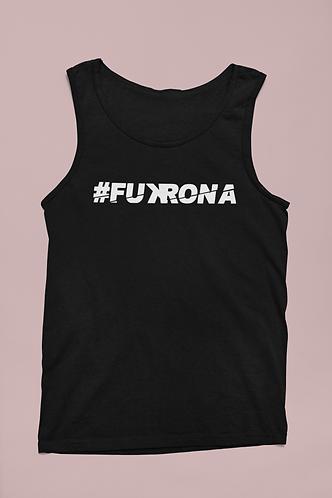 #FUKRONA - Unisex Tank - White