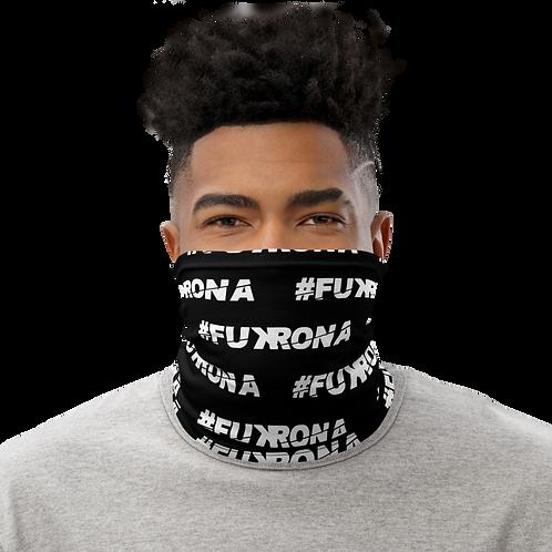 #FUKRONA - Neck Gaiter - White on Black
