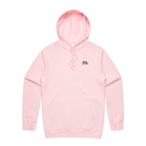 M. The Label Hoodie - Baby Pink